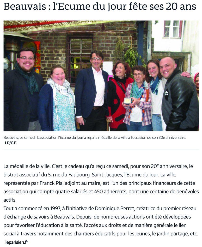 Beauvais - l'Ecume du jour fête ses 20 ans - Le Parisien.pdf