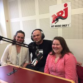 Interview Nrj 28 mars 2017