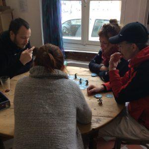 table de jeux Ludo Planète