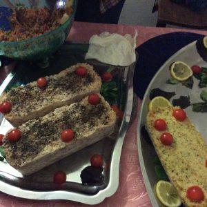 quelques gourmandises maison par Zarife notre chef cuisinière