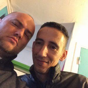 Loïc et Mohammed