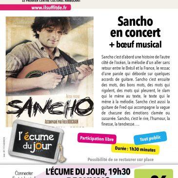 Concert de Sancho + Boeuf Musical